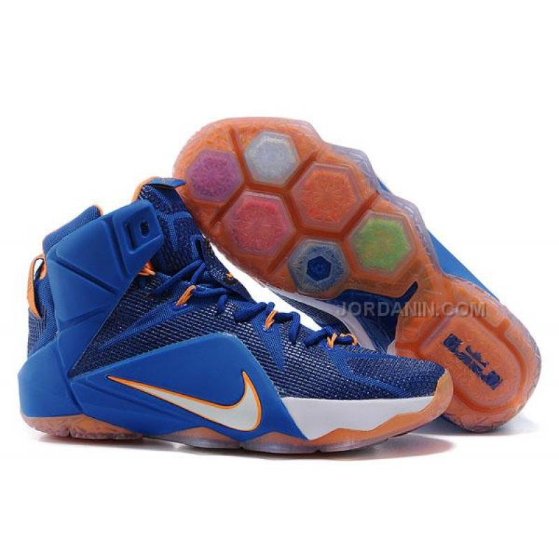 b663226d3358 USD  72.00. Nike LeBron 12 P.S. Elite Royal Blue Team Orange ...