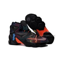 Nike LeBron 13 Black Blue Orange Purple Sale