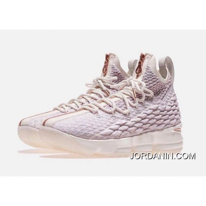 da05abb591eb USD  87.46  262.39. Christmas Wars On Foot Kith Nike LeBron X 15 Rose Gold  Outlet ...
