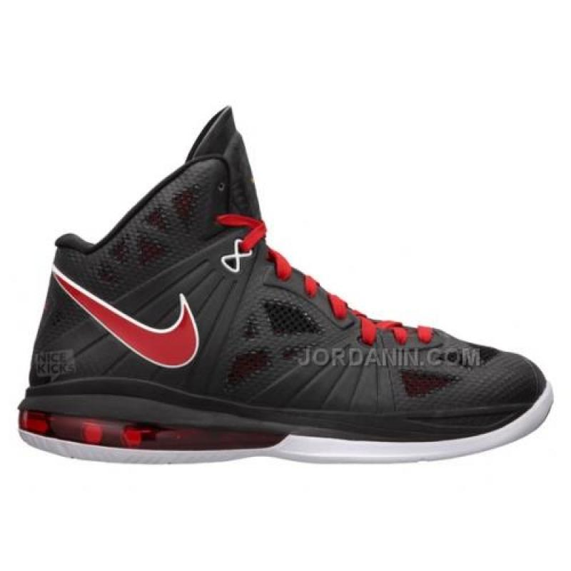 newest 0e1ab 50147 USD  76.00. Nike Lebron 8 PS Black Sport Red White ...