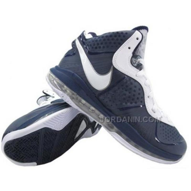 88f1f815d97 ... For Sale Nike LeBron 8 V2 Yankees Midnight Navy White Metallic Silver  429676-400