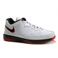 New Arrival Nike Max Lebron VIII Low White Red 428050-100