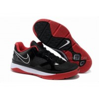 Hot Nike Zoom Lebron 8 Low Shoes Black/Red/White