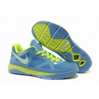 Hot Nike Zoom Lebron 8 Low Shoes Blue/Green