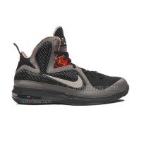 aa7072c3417 Nike LeBron 9 BHM Midnight Fog Black 530962-001 Discount