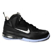 Nike Lebron 9 Black White Hot