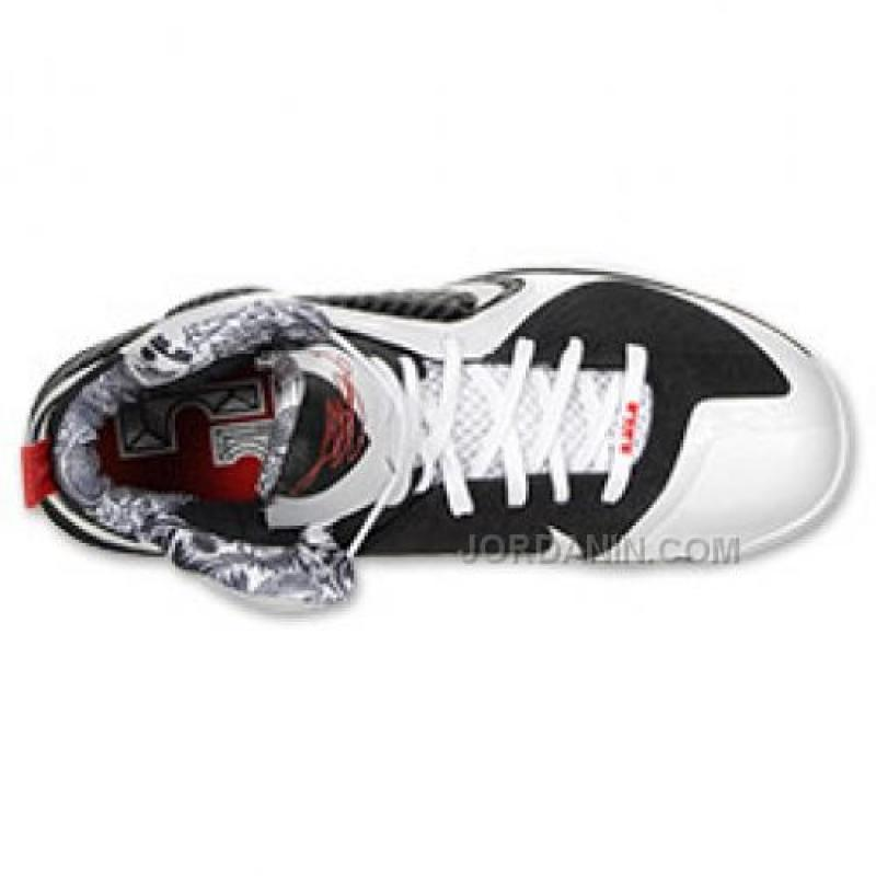 ... Online Nike Lebron 9 Freegums White White Black Sport Red 469764-101  For Sale ... c90b23822