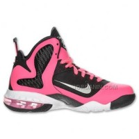 Nike LeBron 9 GS Laser Pink Black 472664-600 Hot