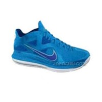 Nike LeBron 9 Low Blue Blue White New