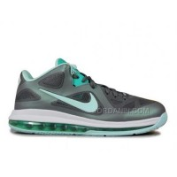 Nike LeBron 9 Low Easter Dark Grey Mint Candy Cool Grey New Green 510811-001 Discount