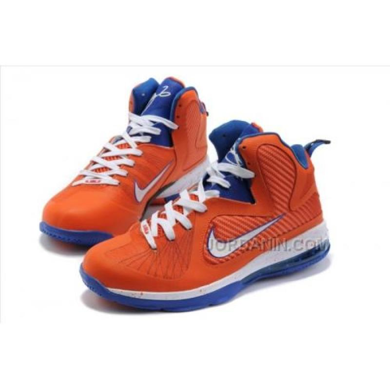 ... Nike Lebron 9 Orange White Blue Cheap ...