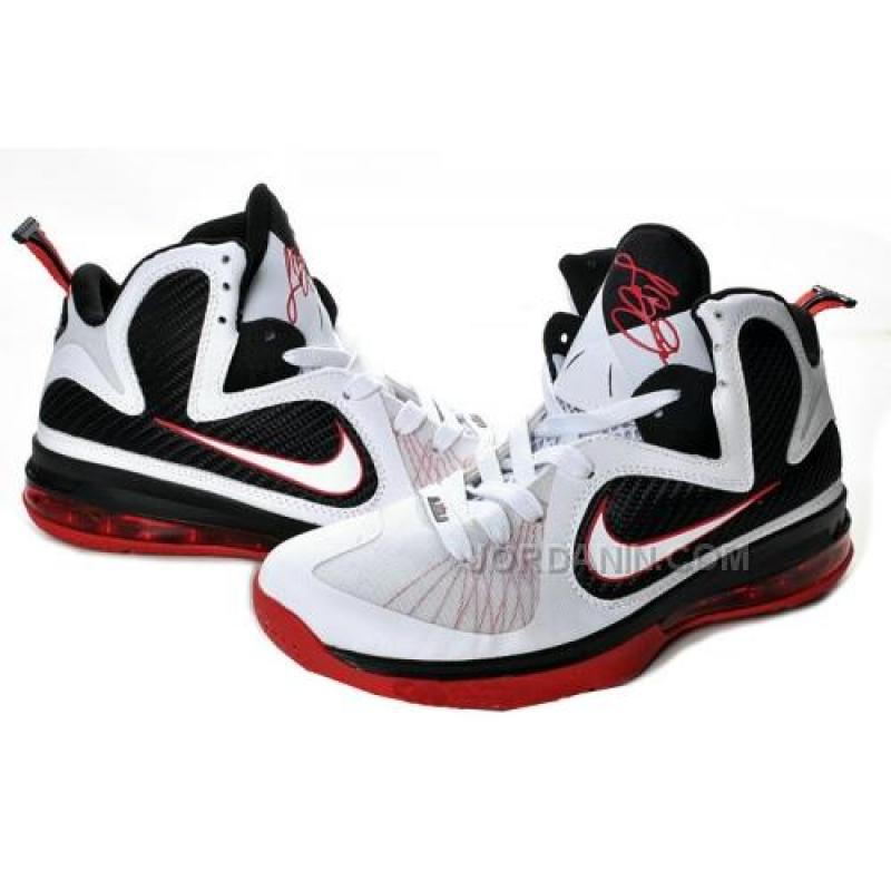 ... Nike LeBron 9 Scarface White Sport Red Black 469764-100 Hot ...
