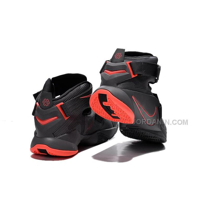 super popular 14b2f d9fa5 Cheap Nike LeBron Soldier 9 Black Red, Price: $76.00 - New Jordan ...