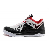 Nike Lebron ST II Shoes Black/White/Sport Red For Sale
