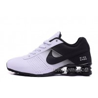NIKE SHOX DELIVER BLACK WHITE 2016 NEW New Release