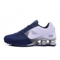 NIKE SHOX DELIVER 809 NAVY BLUE WHITE Online