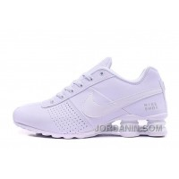 NIKE SHOX DELIVER 809 WOMEN BIGGER SIZE ALL WHITE/MEN Super Deals