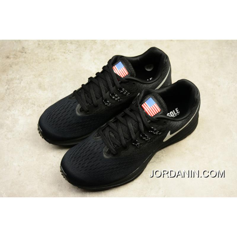 huge selection of 69c15 fd0b7 ... Nike ZOOM WINFLO 4 Customized American Flag 898466-999 Discount ...