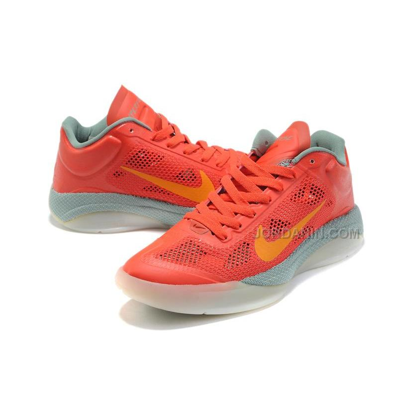 8f91fd668434 ... New Arrival Nike Zoom Hyperfuse Low 2010 Red Team Orange Grey ...