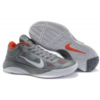 New Arrival Nike Zoom Hyperfuse Low 2010 Cool Grey/White/Orange