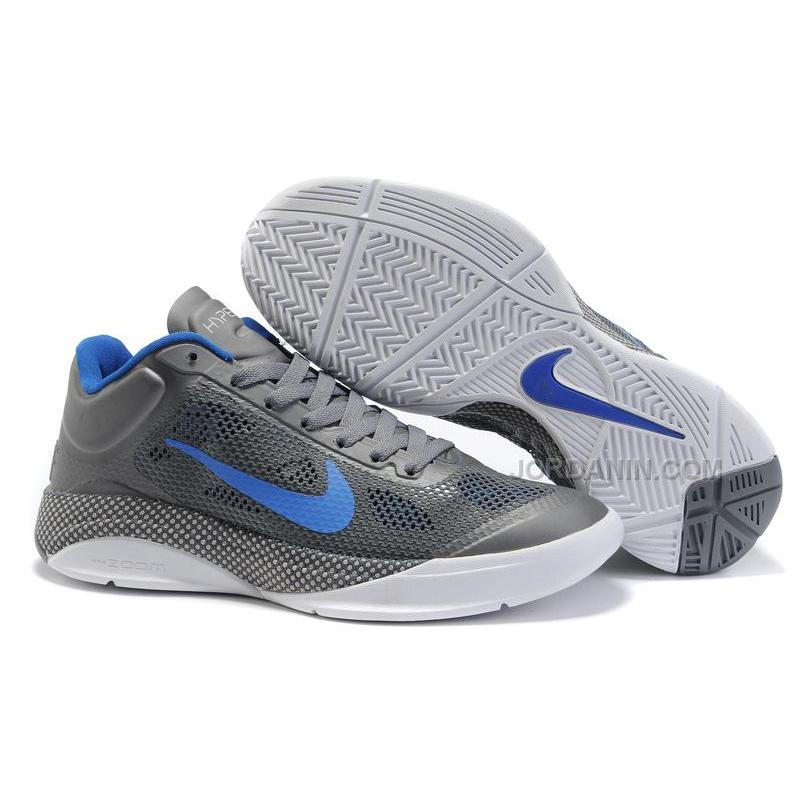 44eb1a48f6e03e ... New Arrival Nike Zoom Hyperfuse Low 2010 Cool Grey White .