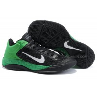 New Arrival Nike Zoom Hyperfuse Low 2010 Black/White/Lucky Green
