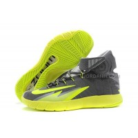 Discount Kyrie Irving Nike Zoom Hyperrev Grey Fluorescent Green
