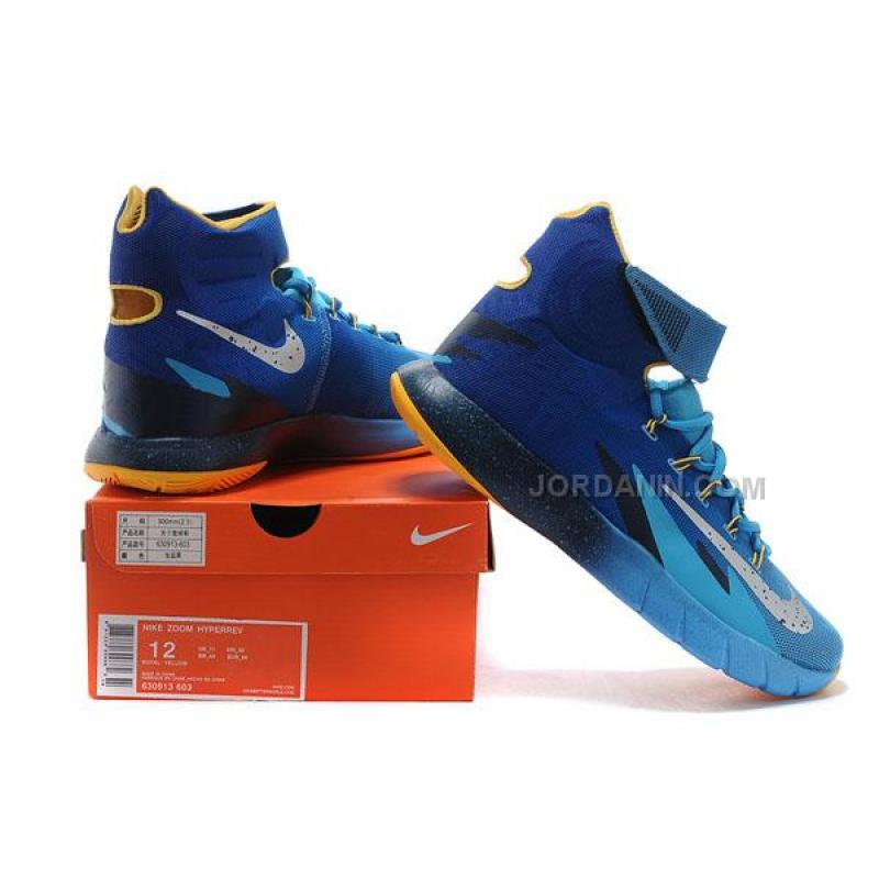kyrie irving nike zoom hyperrev royal blue yellow online