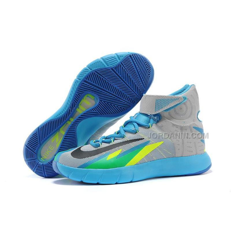 more photos 39799 34e61 Nike Zoom Hyperrev KYRIE IRVING Grey Vivid Blue-Game Royal-Black For ...