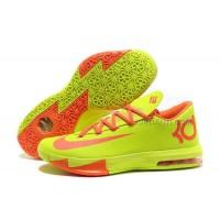 Nike Zoom KD 6 Volt Red For Sale