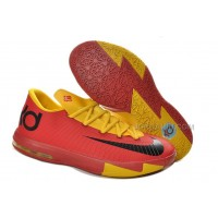 Nike Zoom KD 6 Sport Red/Yellow For Sale