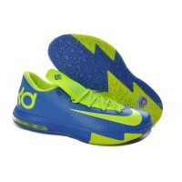 Nike Zoom KD 6 Blue/Neon Green For Sale