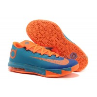 Nike Zoom KD 6 Blue/Team Orange For Sale