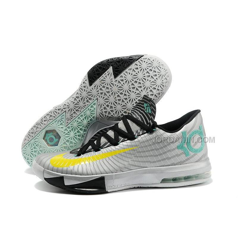 new product 96d1c 3a630 ... nike zoom kd 6 silver black yellow for sale