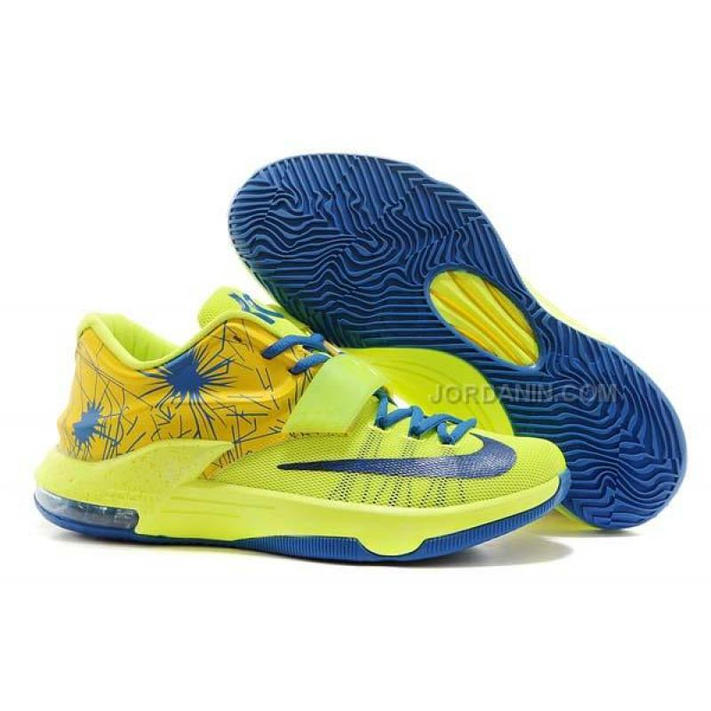 new concept fb04a 22889 Nike Zoom KD 7 Fluorescent Green Blue Online