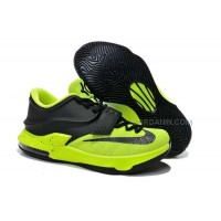 Nike Zoom KD 7 Black Fluorescent Green Online