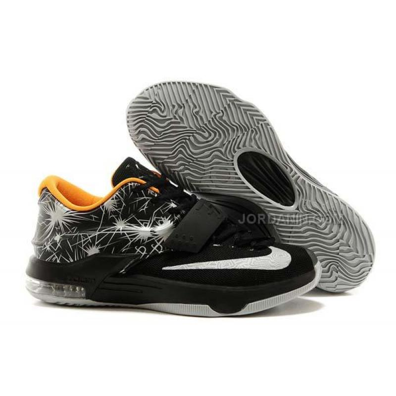 046f39413060 USD  76.00. Nike Zoom KD 7 Black Orange White Online ...