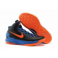 Discount Nike Zoom KD V Shoes Black/Blue/Orange