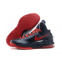 Discount Nike Zoom KD V Shoes Navy/Red