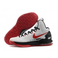 Nike Zoom KD V Shoes White/Black/Red For Sale