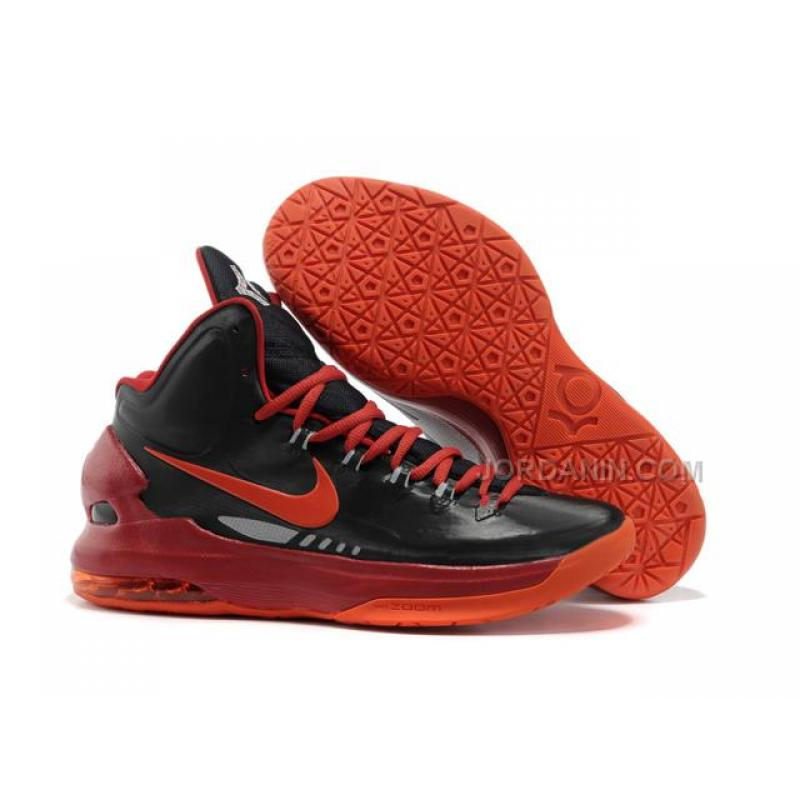 279162cea85a Nike Zoom KD V Shoes Black Red For Sale