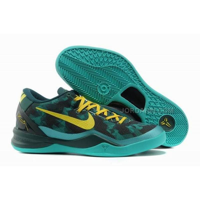 0900d99f5db5 USD  72.00. Nike Kobe 8 System Basketball Shoe Green Yellow ...
