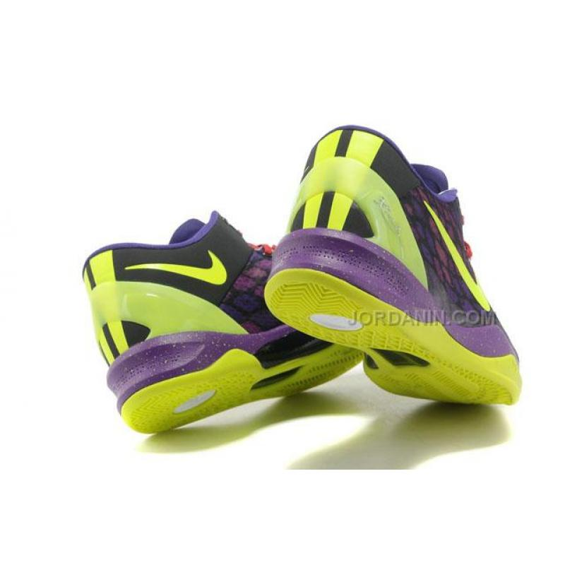 1446fe62cf07 ... Nike Kobe 8 System Basketball Shoe Snake Purple Green Yellow Online ...