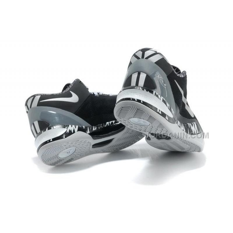 a83a1cb9c872 ... Nike Kobe 8 System PP Philippines Pack Black Silver For Sale ...