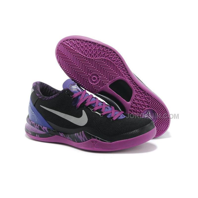 adcdf534d5d7 Nike Kobe 8 System PP Philippines Pack Black-Purple For Sale