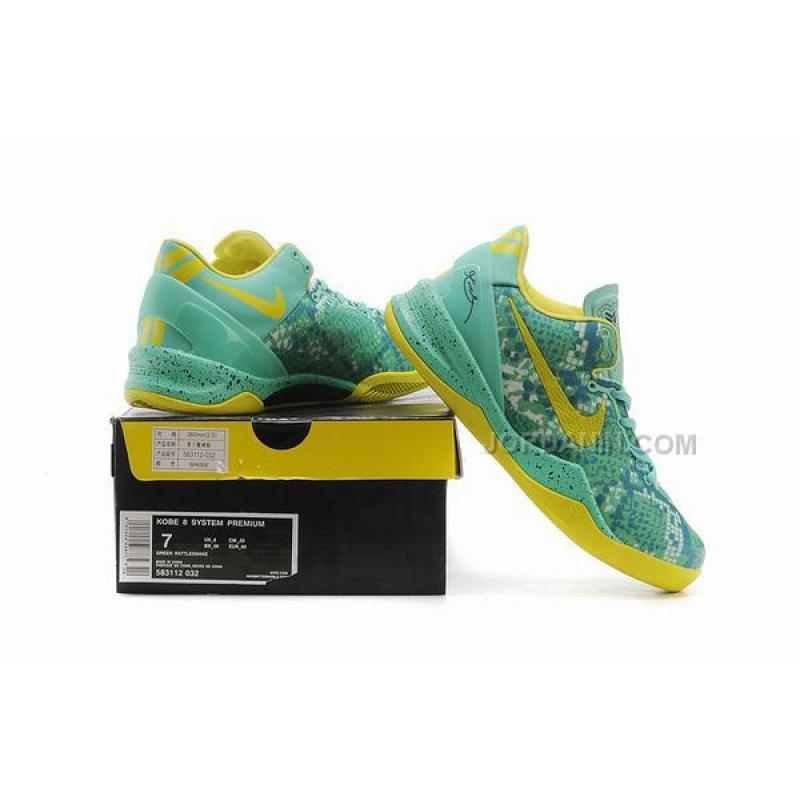 new product fb0ca d81e5 ... Discount Nike Kobe 8 System Green Glow ...