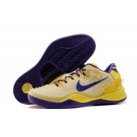 Discount Nike Kobe 8 System Christmas Pack Lakers