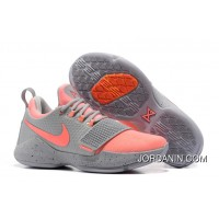 Nike Zoom PG 1 Grey Pink Lastest
