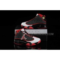 Nike Air Jordan 13 Kids Black Red White Shoes New Arrival