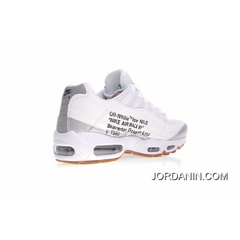 official photos 69300 99ad6 ... Salute Virgil Abloh Designers Off White Nike Air Max 95 Retro X Zoom  Jogging Shoes Ow ...